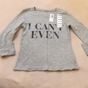 NWT Old Navy long sleeve T-shirt, 5t